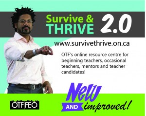 survive and thrive button