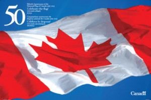 50th Anniversary of the Canadian Flag - Fr