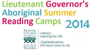 LG reading camp logo