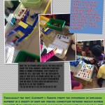 Recognizing and adding numbers using 10 frames.