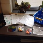 Math manipulatives and data tracking