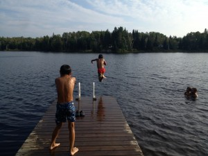 Parry Sound - Lake Swimming