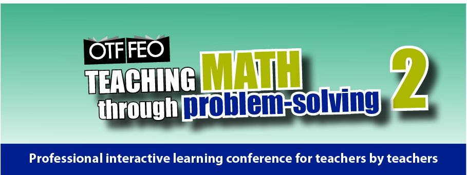 Teaching math through problem-solving 2 – Registration Closed ...